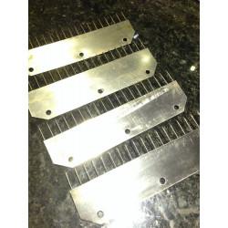 4er Set Anschlagkamm Metall