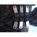 6er Set Anschlagkamm Metall