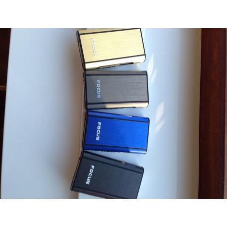 200 X Zigaretten Box Tabak Case ETUI Spender 4 Farben