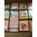 24x Grußkarten Geburtstagskarten Karten 2x12 Motive