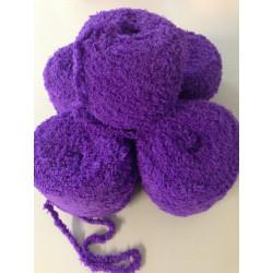 5er Pack Wolle Fleece Strickwolle Handstrickwolle Lila