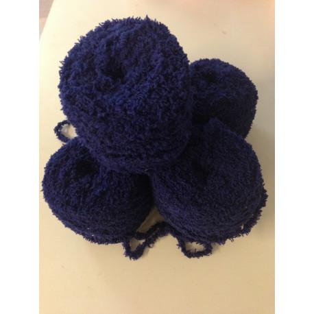 5er Pack Wolle Fleece Strickwolle Handstrickwolle schwarz