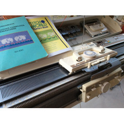 Doppelbett Strickmaschine Brother KH930 + KR850 ein Jahr Garantie