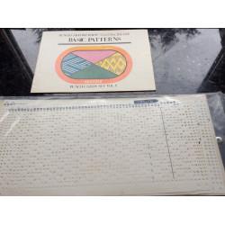 10erSet Lochkarten Vol. 1 mit Musterbuch original 101-110