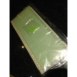 10er Pack Lochkarten 4,5mm + 4 Clips auch für KH260