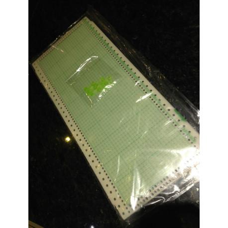 10er Pack Lochkrten 4,5mm + 4 Clips auch für KH260