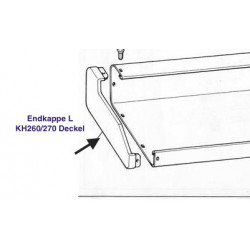 Endkappe Endteil LINKS für Brother Strickmaschine KH260 KH270 Deckel