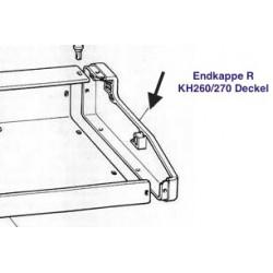 Endkappe Endteil RECHTS für Brother Strickmaschine KH260 KH270 Deckel