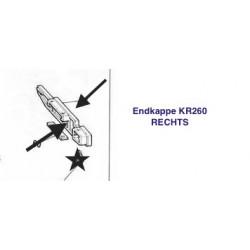 Endkappe Endteil für KR260 Nadelbett RECHTS