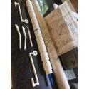 KNITARSIA Fadenspanner Intarsien Spannhalter für Einbett- und Doppenbett Strickmaschine