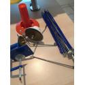 Jumbo Metall Wollwickler L-2 + 1x Kone + Haspel