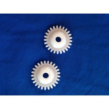 2er Pack Zahnräder für Silver Reed 3,6mm SK270