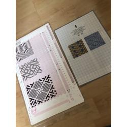 Musterfolien Vol. 4 für Empisal/ Silver Reed Folie 41-50 m. Musterbuch