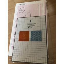 Musterfolien Vol. 6 für Empisal/ Silver Reed Folie 461-70 Musterbuch