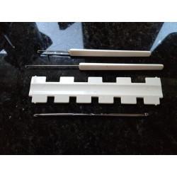 4er Set Grobstrickmaschinen-Zubehör 9mm