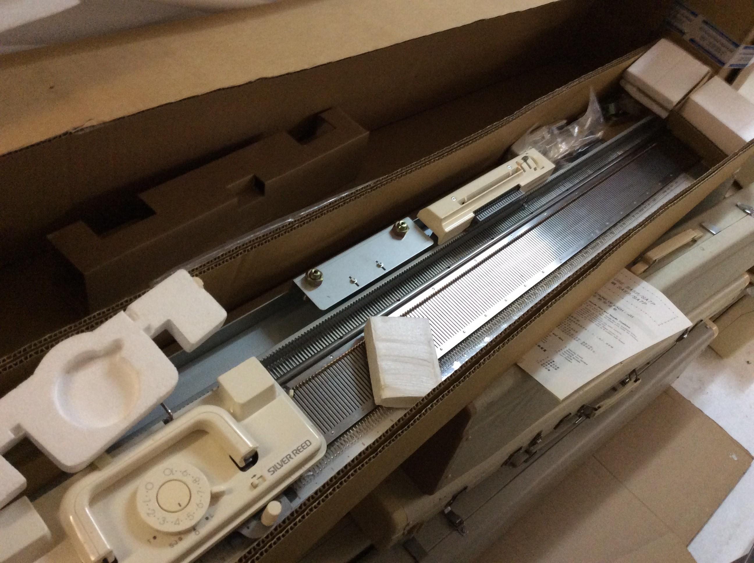 Silver Reed Strickmaschine 250 nadeln