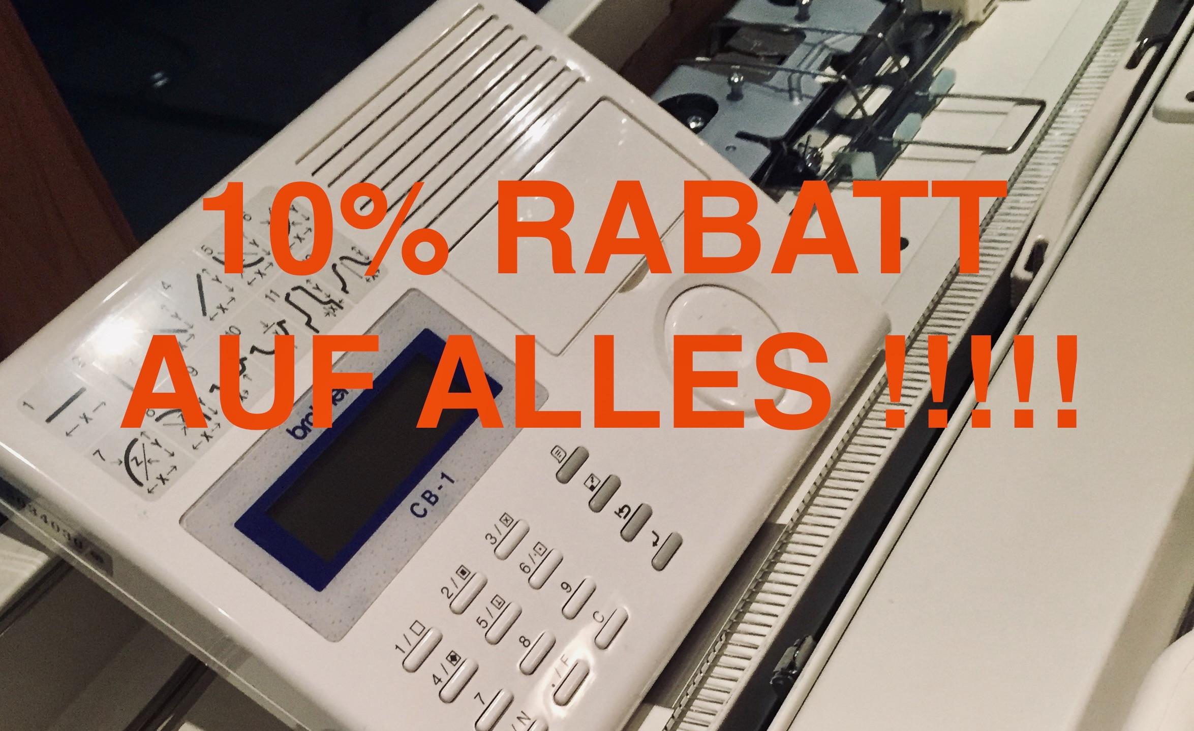 10% Rabatt auf ALLES !!!!!!!!!